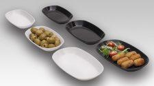 Platos De Plástico Para Servir Tapas Que Parecen De Porcelana