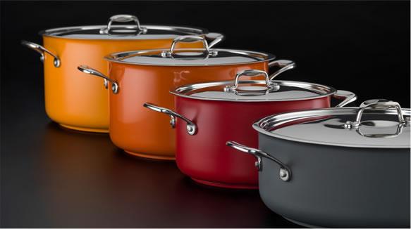 Cacerolas Para Cocinar Con Color