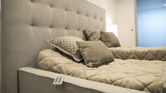 Dormitorio De La Habitación Accesible De La Fundación Once