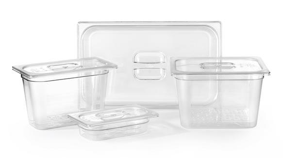 Cubetas Gastronorm De Pujadas Fabricadas En Copoliéster
