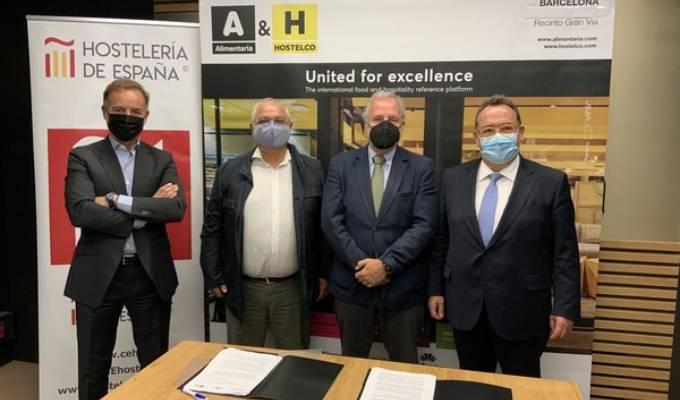 Alianza De Alimentaria & Hostelco Con Hostelería De España